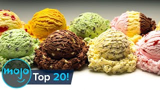 I scream, you we all scream for — well, know. this list, we'll be looking at the most delicious, popular and satisfying ice cream flavors out...