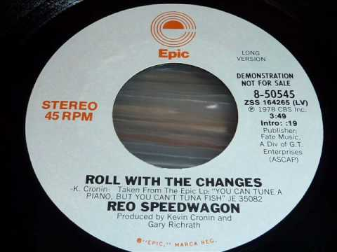 Reo Speedwagon Roll With The Changes 45rpm Youtube