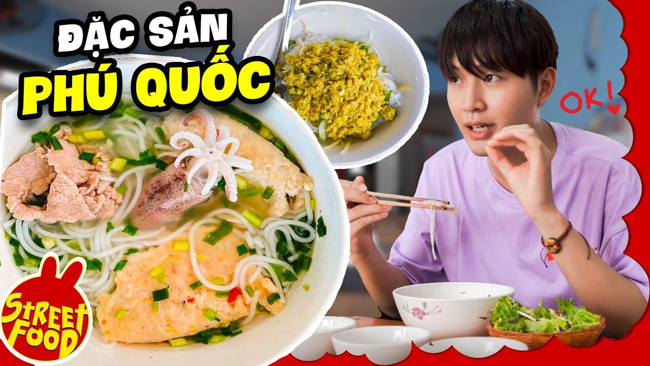 Bún Quậy Độc Lạ Siêu Nhiều Topping   Khám Phá Món Ngon Phú Quốc   ĐẶC SẢN 3 MIỀN