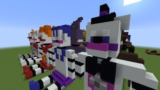 Minecraft FNAF Plush | FNAF SL (Speed Build)
