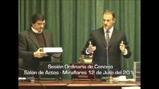 Municipalidad de Miraflores — Sesión de Concejo Municipal (12/07/2011)