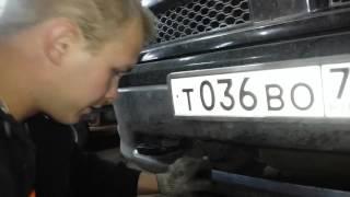 Как установить светодиодную балку Dodge RAM 1500(Сделать своими руками .В этом видео вы увидите как можно улучшить свет на автомобиле Dodge ram .Это улучшение..., 2015-10-08T23:39:25.000Z)