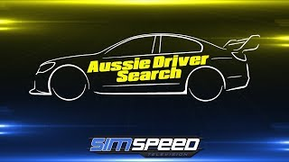 Aussie Driver Search Sim-To-Supercar   Special Event