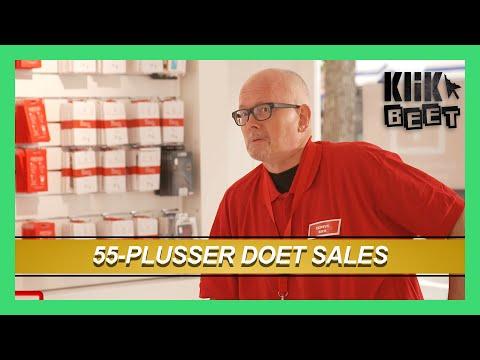 55 plusser doet sales | Klikbeet