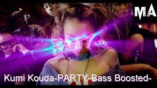 倖田來未−PARTY【重低音強化】【BassBoosted】