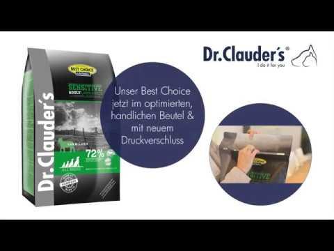 best choice hundefutter von dr clauder 39 s g nstig online. Black Bedroom Furniture Sets. Home Design Ideas