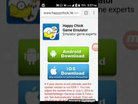 How to download happy chick game emulator