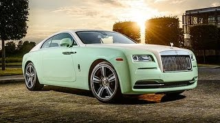 Rolls Royce Wraith Jade Pearl Unveiled | Upcoming Cars 2015