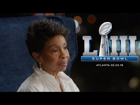 Traci James - Gladys Knight @ Super Bowl 2019