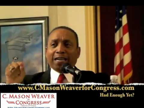 San Diego US Congress Hopeful, Mason Weaver on Taxes