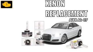 Xenon Bulb Replacament Audi a6 c7 / Wymiana żarnika ksenonowego Audi a6 c7 / Wymiana żarówki xenon
