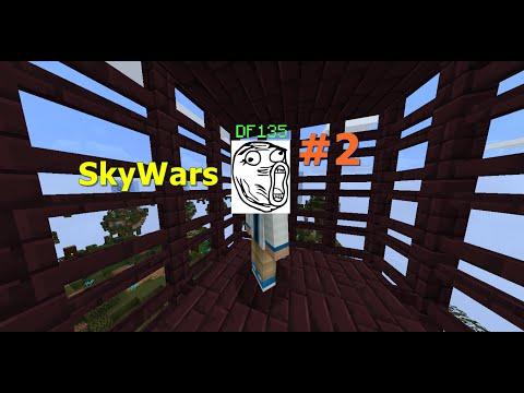 Minecraft SKYWARS - 2 - DAVID IS BAD AT THIS! - PRO CHALLENGE
