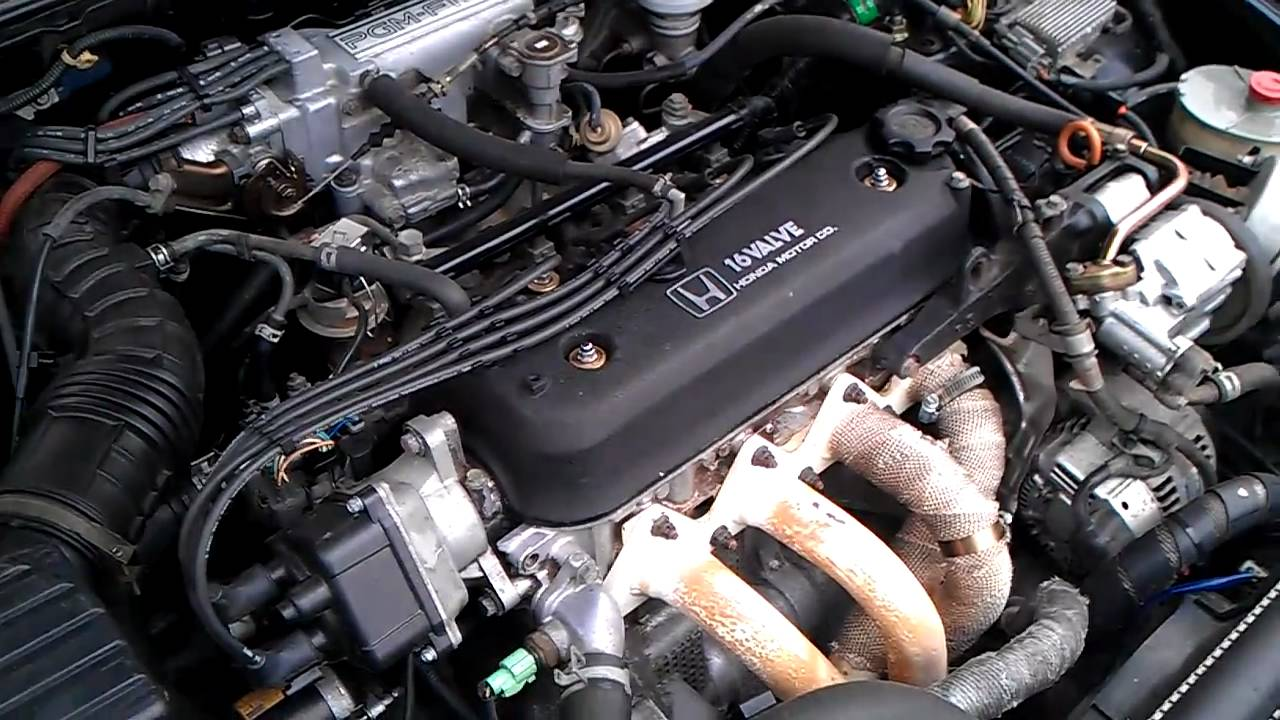 1991 Honda Accord Rough Idle Youtube