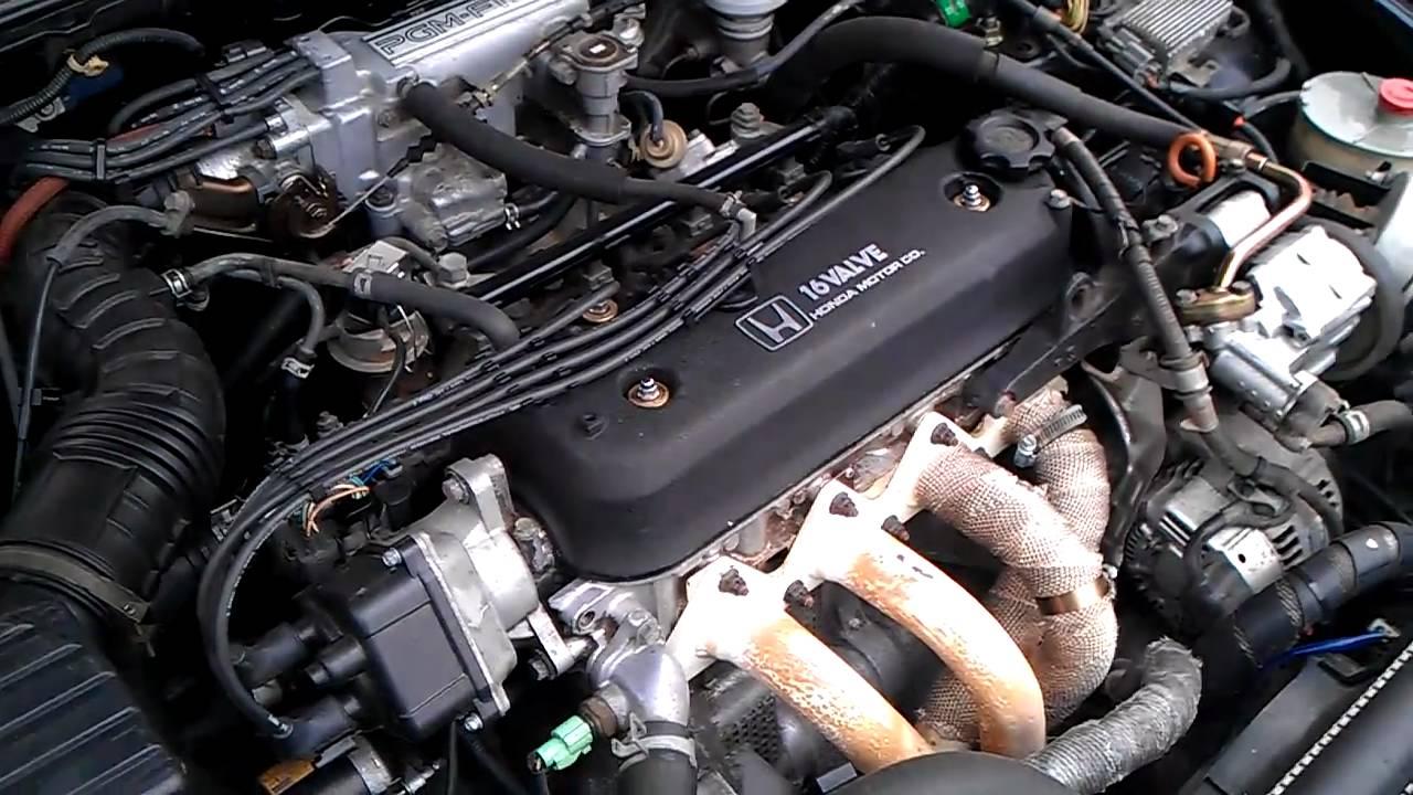 1996 Honda Civic Ex Engine Diagram 1991 Honda Accord Rough Idle Youtube