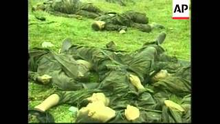 COLOMBIA: ARMY SURVIVORS AND VICTIMS OF FARC ATTACK