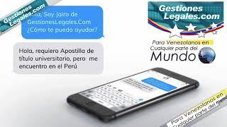 Gestiones Legales Com -  Tu solución en línea - comercial 1