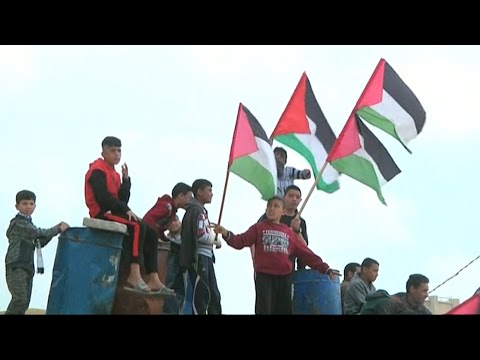 Gaza-Israel border calm one day after deadly protests