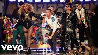 Beyoncé, Bruno Mars & Coldplay at Super Bowl 50 Halftime Show 2016 - HD