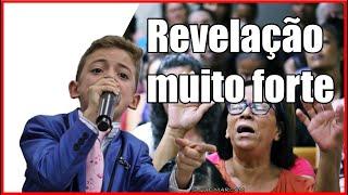 revelação forte João Vitor ota o menino de Deus