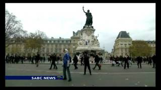 Protests intensify ahead of Paris climate change summit