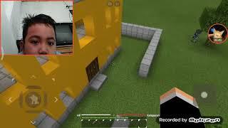 HACKER melawan tengkorak game Minecraft free fire
