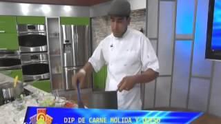 Dip De Carne Molida Y Queso- Chef Edgardo Noel