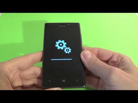 Nokia Lumia 925 hard reset