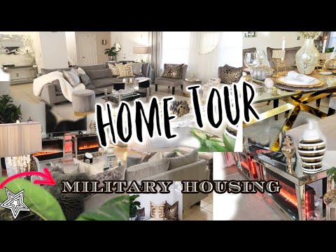 House Tour | 2020 Winter Edition | Military Housing