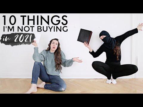 10 THINGS I AM NOT BUYING IN 2021 // Let's NO BUY like freaking ninjas  | Minimalism Series