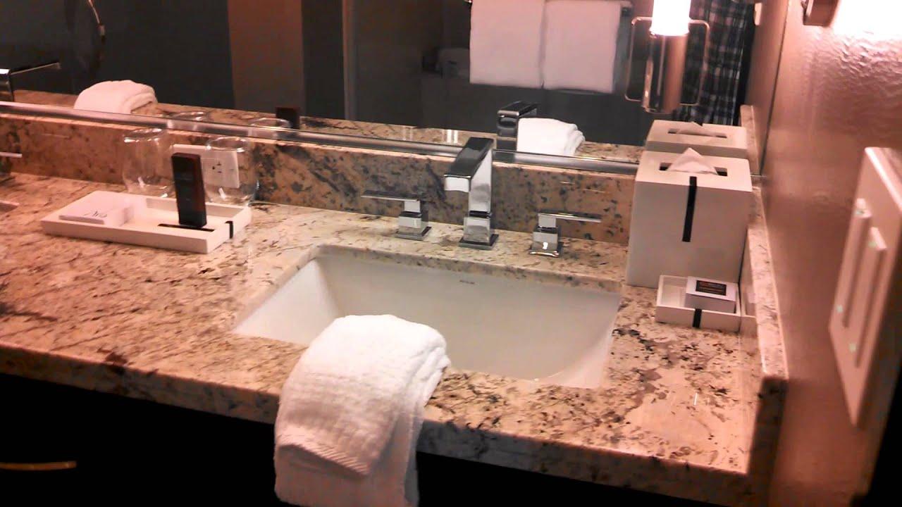 Aria Hotel Resort & Casino King Deluxe Room Walk Around Review