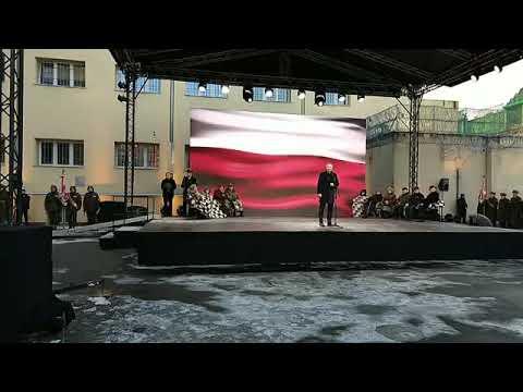 """Andrzej Duda do Żołnierzy Wyklętych: """"Dziękujemy za Wolną Polskę!"""""""