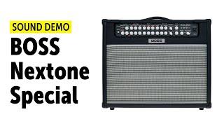 Boss Nextone Special - Sound Demo (no talking)