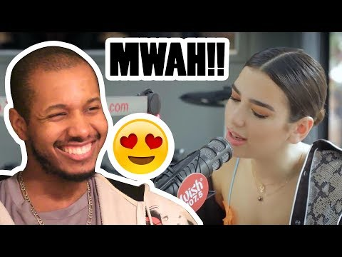 DUA LIPA PERFORMS 'BLOW YOUR MIND' LIVE ON WISH 107.5 BUS REACTION
