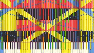 [BEST MUSIC] Synthesia – Running in the 90s   170,000 notes   Sir Spork
