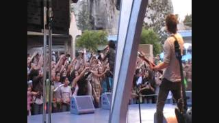 Mitchel Musso Concert at Disneyland Movin' in (HD)