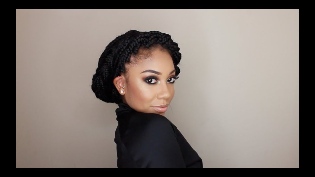 12 Ways To Style Box Braids Faceovermatter Youtube