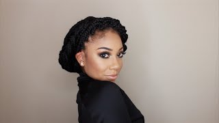 One of faceovermatter's most viewed videos: 12 Ways To Style Box Braids | FACEOVERMATTER