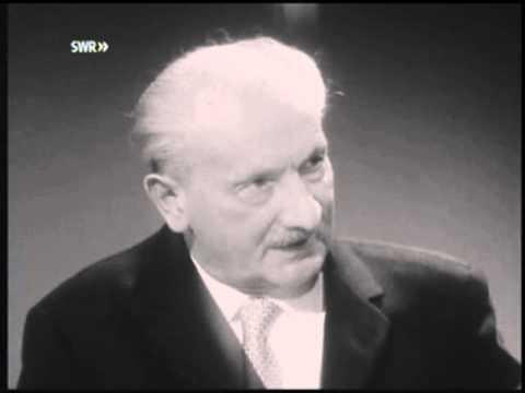 Martin Heidegger - Ein Interview 1/2