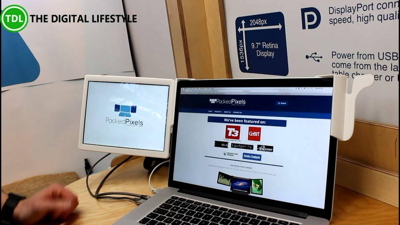 Packedpixel Portable Monitors For Laptops Youtube