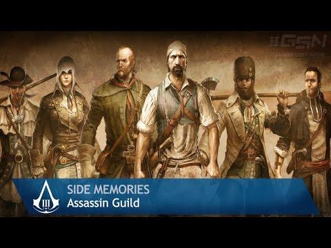 Assassin's Creed 3 - Side Memories - Assassins Guild & Recruits