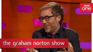 How stingy was Stephen Merchant's father? - The Graham Norton Show - BBC One