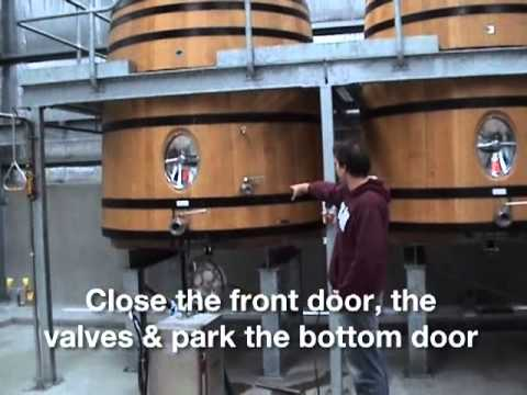 Barriclean Vats and Casks demonstration