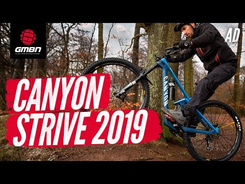 The All New 2019 Canyon Strive  | GMBN First Ride