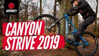 the All New 2019 Canyon Strive   GMBN First Ride