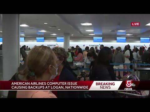 Major delays reported at airports across country due to computer issue