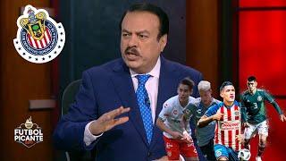 Huerta dice que los MILLONES de CHIVAS tienen que estar en el campo, no en el banco | Futbol Picante