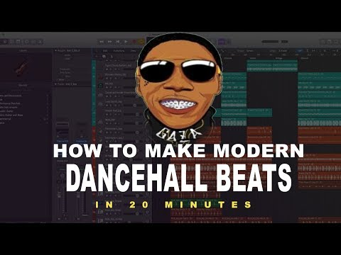 How to make a Modern Dancehall Beat in Logic Pro (Break Down Tutorial)