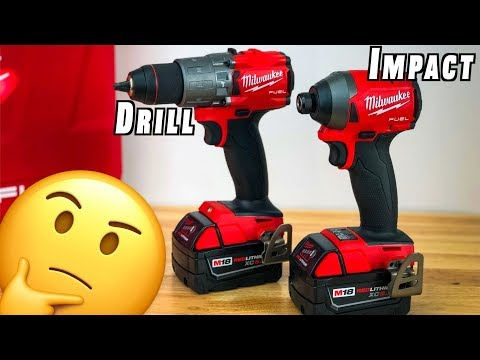 Milwaukee M18 FUEL Drill & Impact Driver Combo ~ Review