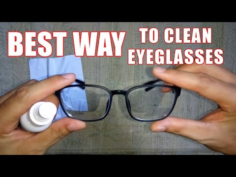 How to Clean Eyeglasses The Best Way + Best Eyeglass Cleaner