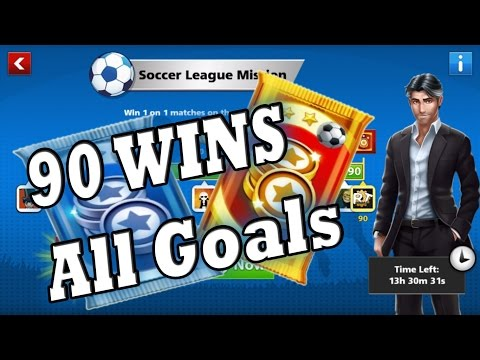 \Soccer Stars / - Soccer League Mission - KickOff |Win 90| Silver/GoldPack +Goals|Own|Helped|Best|